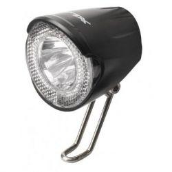 Фонарь велосипедный XLC LED 20Lux, черный (2500220500)