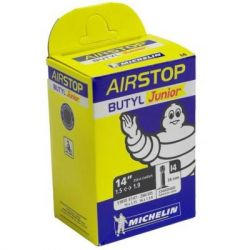 "Велосипедная камера Michelin I4 AIRSTOP, город 14""x1.75 - 16""x1.3/8 (37/47X288/305) ST (32337)"