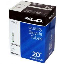 """Велосипедная камера XLC 20"""" x1.5/2.5 (40/62-406) AV35мм (2508200200)"""
