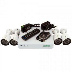 Комплект видеонаблюдения Green Vision GV-K-S13/04 1080P (5525)