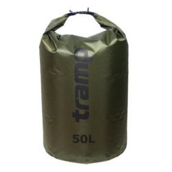Гермомешок Tramp PVC Diamond Rip-Stop оливковый 50л (TRA-208-olive)