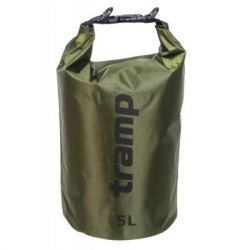 Гермомешок Tramp PVC Diamond Rip-Stop оливковый 5л (TRA-110-olive)