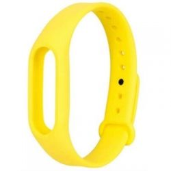 Ремешок для фитнес браслета Xiaomi Mi Band 2 Yellow (48091)