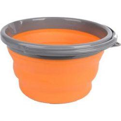 Ведро складное Tramp 10L orange (TRC-091-orange)