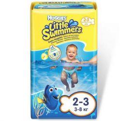 Подгузник Huggies Little Swimmer 2-3 12 шт (5029053537795)