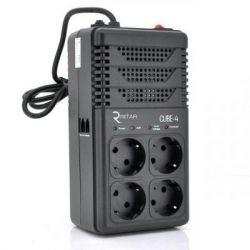 Стабилизатор Ritar 800VA, 480W, 4SHUKO (CUBE-4) (CUBE-4)