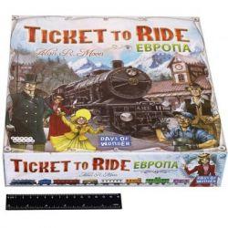 Настольная игра Hobby World Ticket to Ride: Европа (3-е рус. изд.) (1032) - Картинка 11