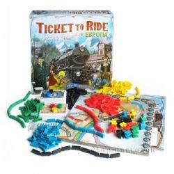 Настольная игра Hobby World Ticket to Ride: Европа (3-е рус. изд.) (1032) - Картинка 6