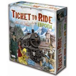 Настольная игра Hobby World Ticket to Ride: Европа (3-е рус. изд.) (1032) - Картинка 1
