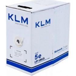 Кабель сетевой KLM UTP 305м cat.5e CCA (UTP4-C5e-SOLID-2451-CCA)