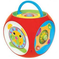 Развивающая игрушка Kiddieland МУЛЬТИКУБ (свет, озвуч. укр. яз.) от 1 до 2 лет (056887)