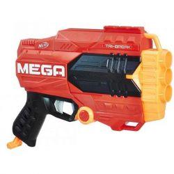 Игрушечное оружие Hasbro Nerf бластер МЕГА Три-брейк (E0103)