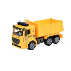 Спецтехника Same Toy инерционный Truck Самосвал желтый со светом и звуком (98-614AUt-1)