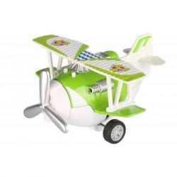 Спецтехника Same Toy Самолет металический инерционный Aircraft зеленый (SY8013AUt-4)