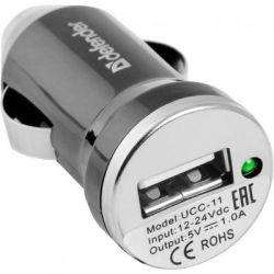Зарядное устройство Defender UCC-11, 1*USB, 5V/1A + micro-USB cable (83564)