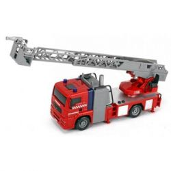 Спецтехника DICKIE TOYS Пожарная машина Город со свет, звук. и вод.эффектами (3715001)