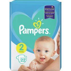 Подгузник Pampers New Baby Mini Размер 2 (4-8 кг), 22 шт. (8001090909800)