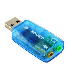 Звуковая карта USB (5.1) 3D sound (Windows 7 ready) 7807