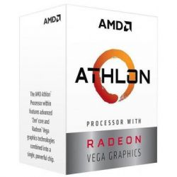 Процессор AMD AM4 Athlon ™ 200GE , 2 ядра, 3.20GHz, Radeon Vega 3, L2: 1MB, L3: 4MB, 14nm, 35W, BOX YD200GC6FBBOX