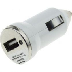 Зарядное устройство TOTO TZZ-54 Car charger 1USB 1A White (F_52812)
