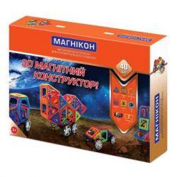Конструктор Магнікон 40 деталей (МК-40)