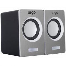 Комп.акустика ERGO S-2049 USB 2.0 серебряный
