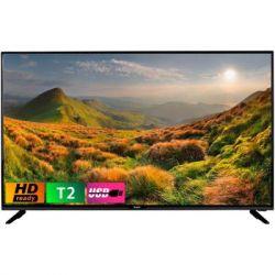 "Телевизор 32"" BRAVIS LED-32G5000 + T2 Black 1366х768 VGA*1, PC AUDIO*1, Scart*1, HDMI*3, COAXIAL*1, CI*1,AV (mini)in*1, YPBPR(mini)*1, USB*1,"