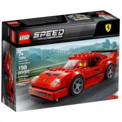 Конструктор LEGO Speed Champions Автомобиль Ferrari F40 Competizione 198 дет. (75890)