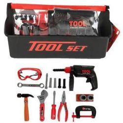 Игровой набор Tool Set ящик с инструментами 18 шт (KY1068-304)