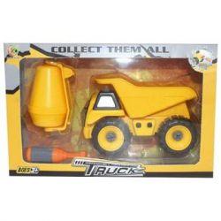 Машина Kaile Toys Набор бетоновоз/самосвал, разборная модель с отверткой (KL716-1)