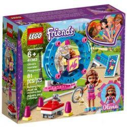 Конструктор LEGO Friends Игровая площадка для хомячка Оливии 81 деталь (41383)