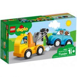 Конструктор LEGO DUPLO Мой первый эвакуатор 11 деталей (10883)