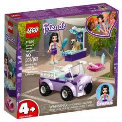Конструктор LEGO Friends Передвижная ветклиника Эммы 50 деталей (41360)