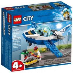 Конструктор LEGO City Воздушная полиция: патрульный самолёт 54 детали (60206)