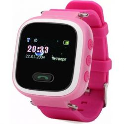 Смарт-часы UWatch Q60 Kid smart watch Pink (F_50520)