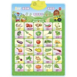 Интерактивная игрушка Smart Koala Аудиопостер Овощи (SKCIV2)