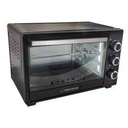Электродуховка Esperanza EKO006 Black, 1600W, 20 л, таймер, 5 режимов, автоотключение, звуковой сигнал, внутренняя подсветка