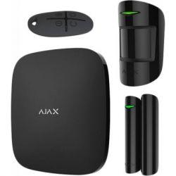 Комплект охранной сигнализации Ajax StarterKit Plus - Hubkit Plus /Black (StarterKit Plus /Black)