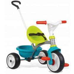 Детский велосипед Smoby Be Move с багажником Голубо-зеленый (740326)