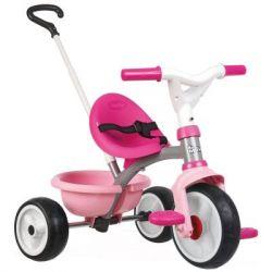 Детский велосипед Smoby Be Move с багажником Розовый (740327)