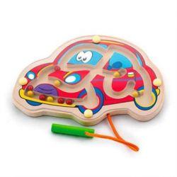Развивающая игрушка Viga Toys Лабиринт Машина (50163)