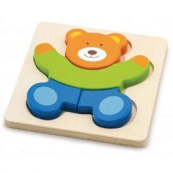 Развивающая игрушка Viga Toys Медведь Мини-пазл (50169)