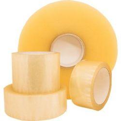 Скотч BrandKV Packing tape 48мм x200м х 40мкм, clear (2262-39) - Картинка 1