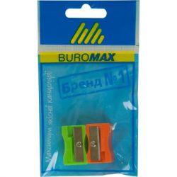 Точилка BUROMAX SET*2шт, plastic (BM.4701-99)