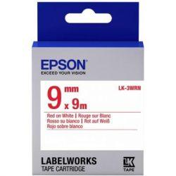 Лента для принтера этикеток EPSON LK3WRN (C53S653008)