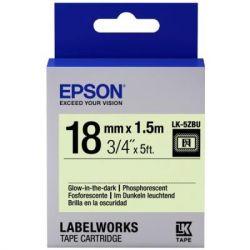 Лента для принтера этикеток EPSON LK5ZBU (C53S655015)
