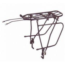 Багажник велосипедный Velotrade под диск. тормоз и сумку KAIWEI черный алюминий (CAR-022)