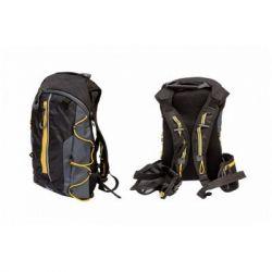 Рюкзак Velotrade QIJIAN BAGS B-300 44х26х9cm черно-серо-оранжевый (BKP-001)