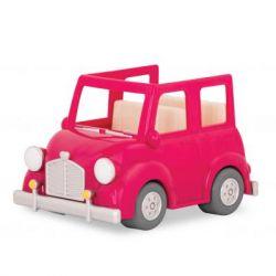 Игровой набор Li'l Woodzeez Розовая машина с чемоданом (WZ6547Z)