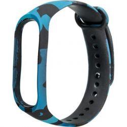 Ремешок для фитнес браслета Xiaomi Mi Band 3 Khaki Blue (5) (70489)